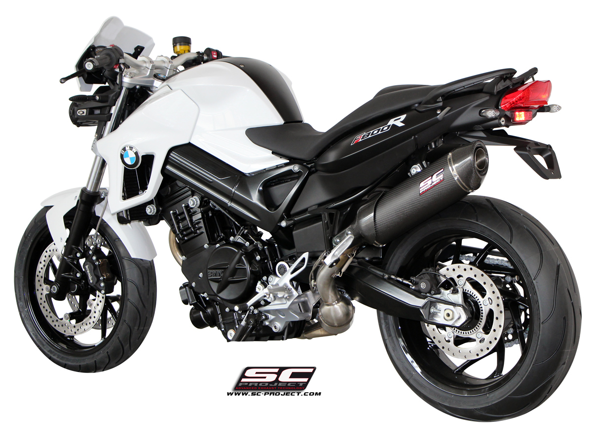 Bmw F800r 2009 2014 Oval Sport Edition Exhaust By Sc Project