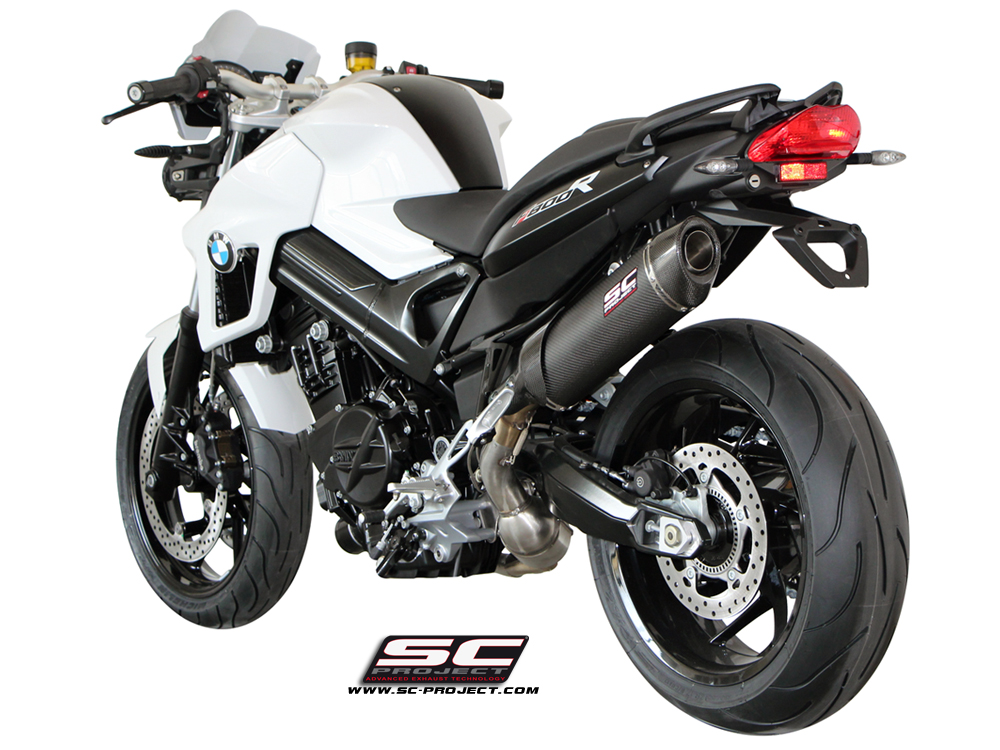 bmw f800r 2009 2014 oval sport edition exhaust by sc project. Black Bedroom Furniture Sets. Home Design Ideas