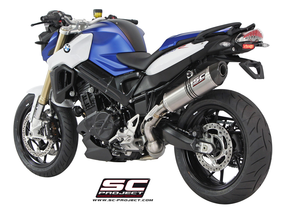 BMW F800R (2015+ series) Oval Exhaust by SC-Project