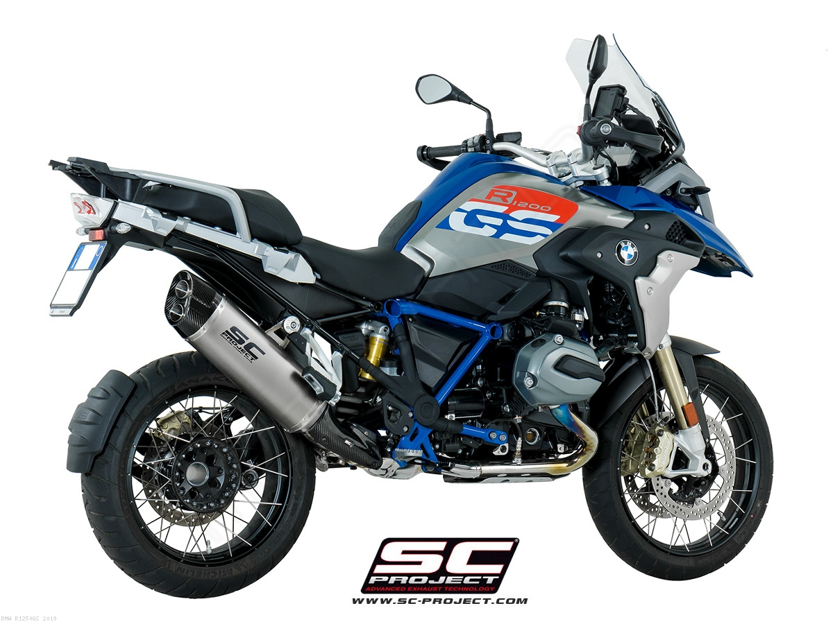 Adventure Exhaust By Sc Project Bmw R1250gs 2019