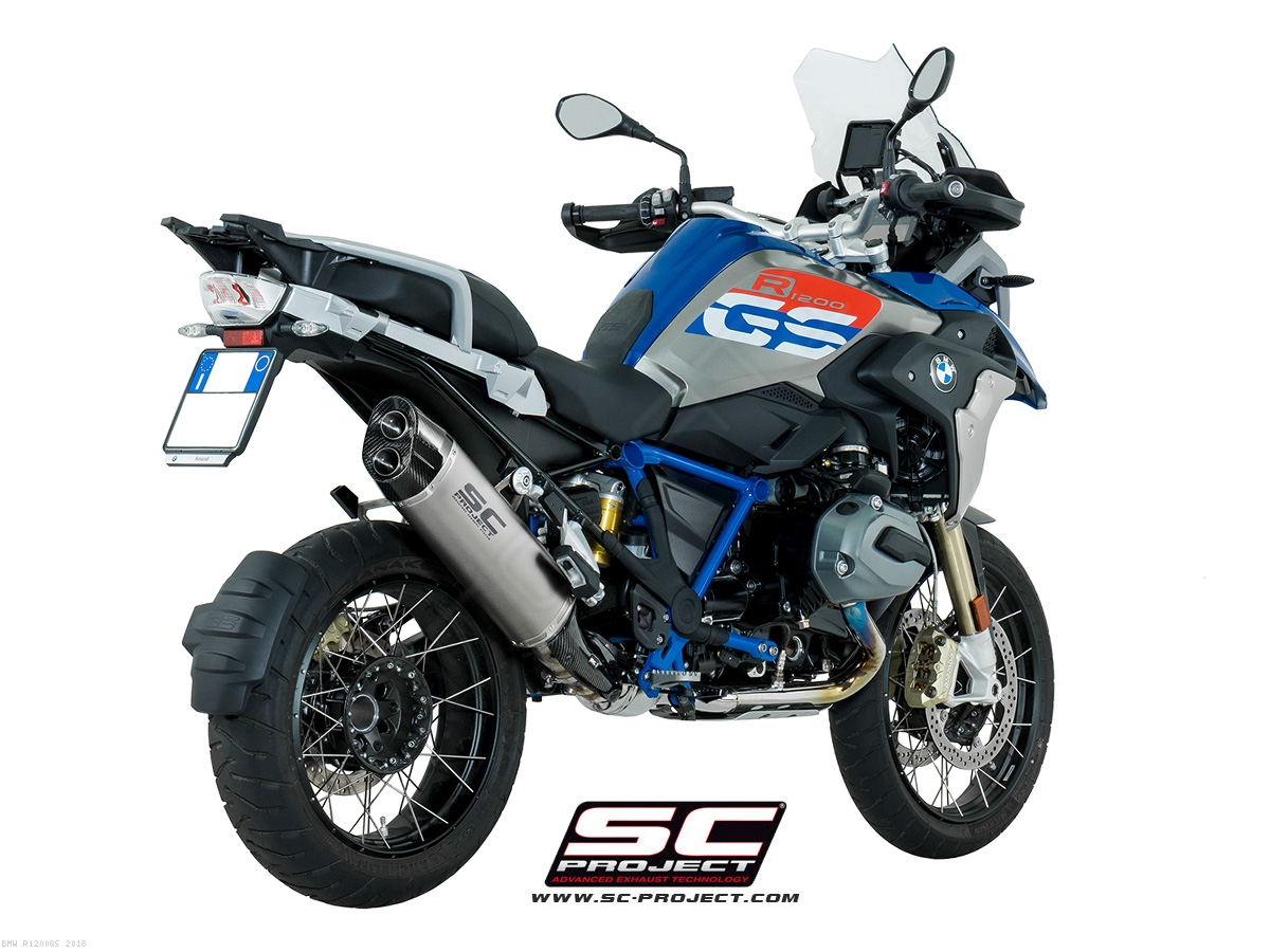 Adventure Exhaust By Sc Project Bmw R1200gs 2018 B26 86t