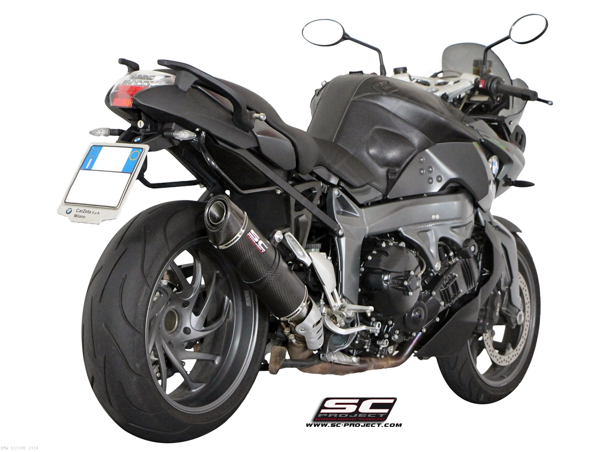 oval exhaust by sc project bmw k1300r 2014 b14 02c. Black Bedroom Furniture Sets. Home Design Ideas