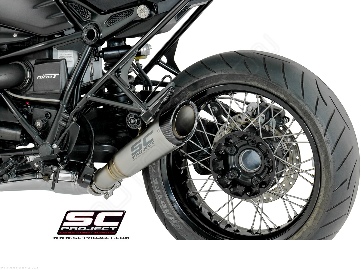 s1 low mount exhaust by sc project bmw r ninet urban gs. Black Bedroom Furniture Sets. Home Design Ideas