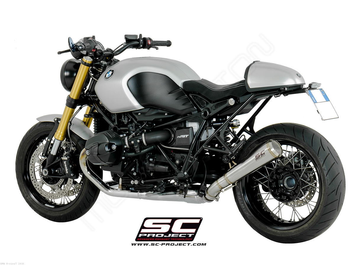 Conic 70s Style Exhaust By Sc Project Bmw R Ninet 2016