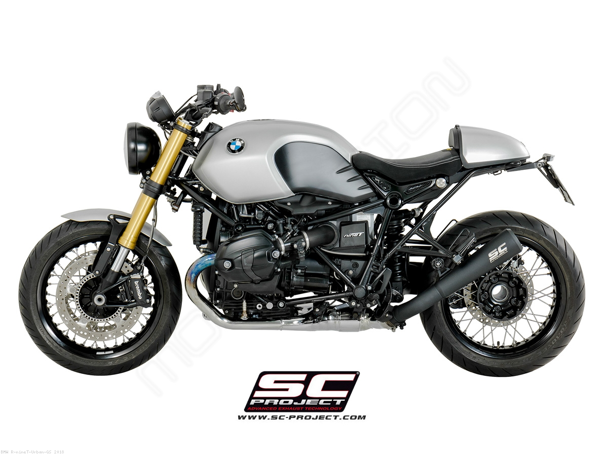 Conic 70s Style Exhaust By Sc Project Bmw R Ninet Urban Gs