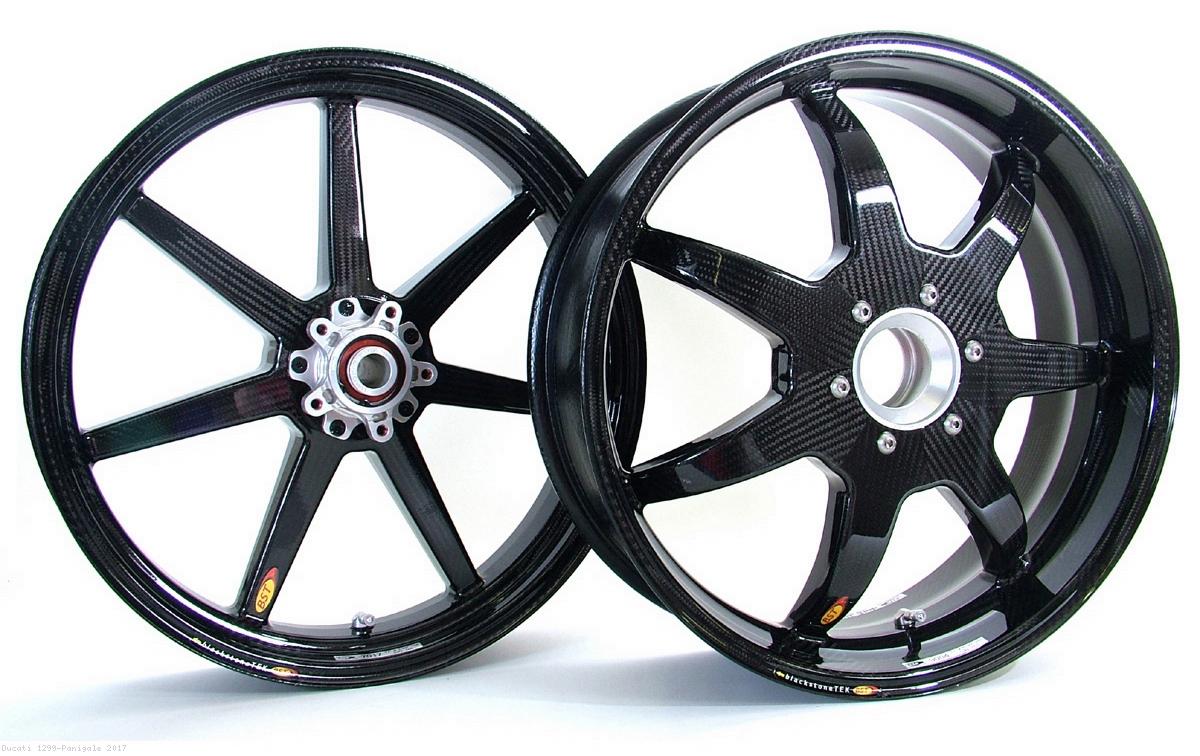 7 Spoke Carbon Fiber Wheel Set By Bst Ducati 1299 Panigale 2017