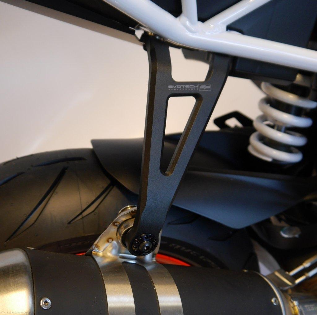 2018 ktm super duke r. beautiful super exhaust hanger bracket by evotech performance ktm  1290 super duke r  2018 inside ktm super duke r