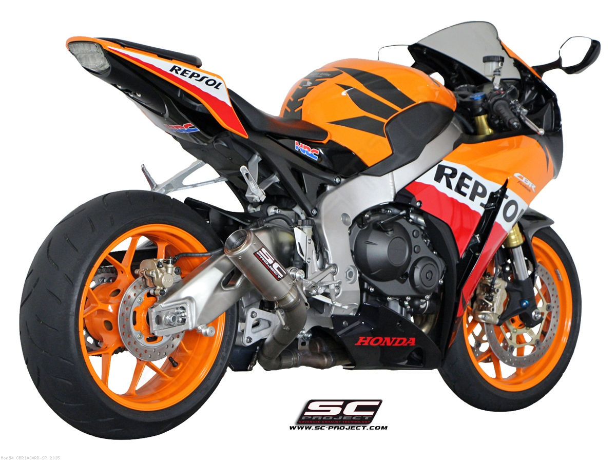 cr t exhaust by sc project honda cbr1000rr sp 2015. Black Bedroom Furniture Sets. Home Design Ideas