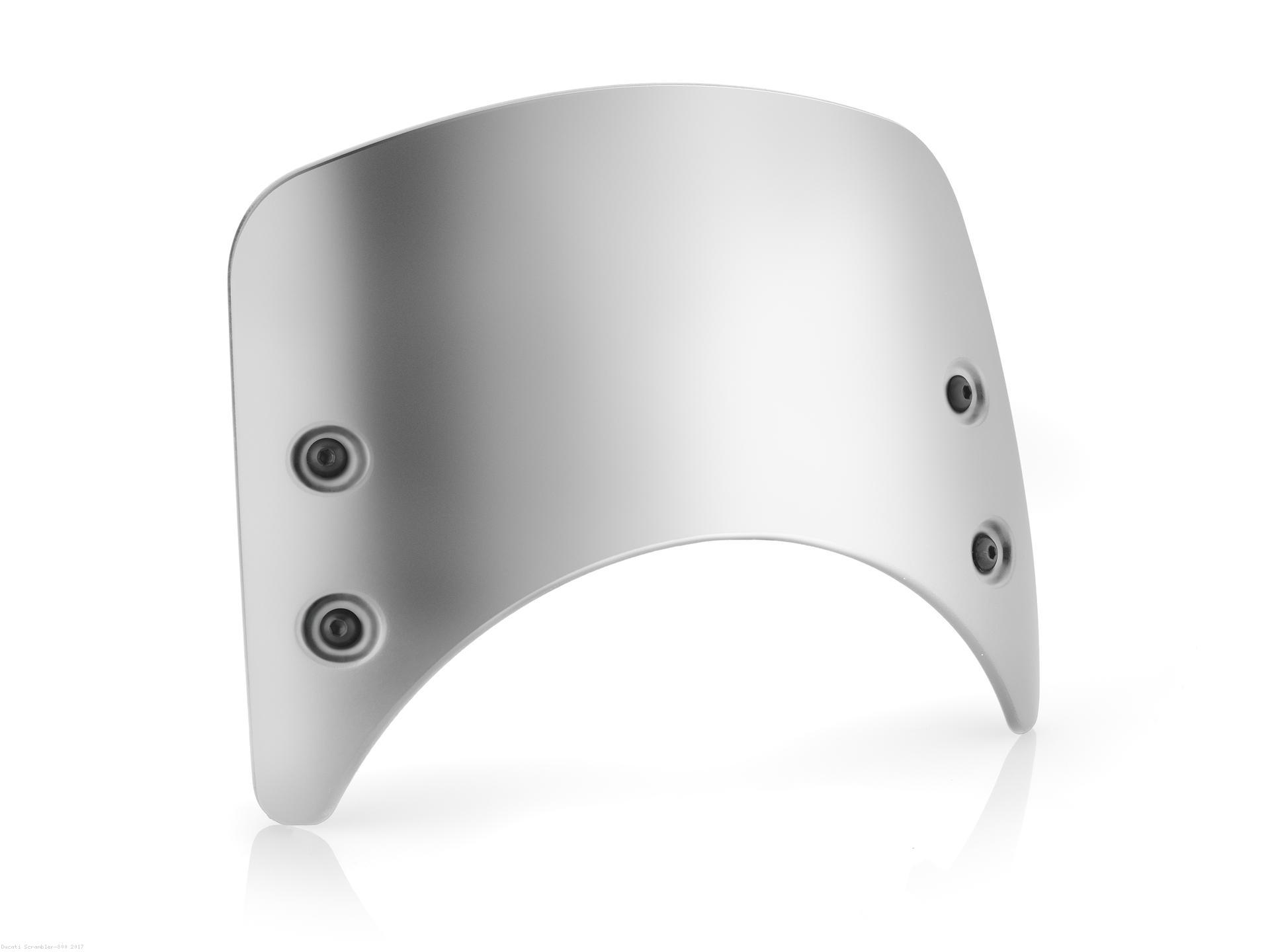 Low Height Aluminum Headlight Fairing By Rizoma Ducati Scrambler
