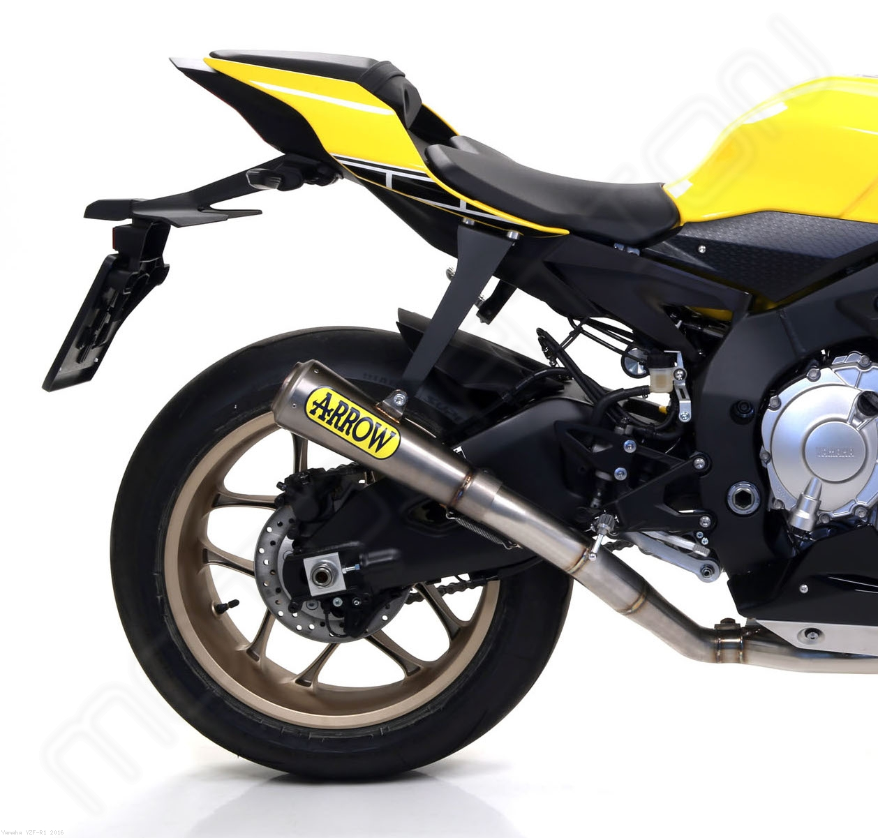 Competition evo 2 pro race full system exhaust by arrow for Yamaha exhaust systems
