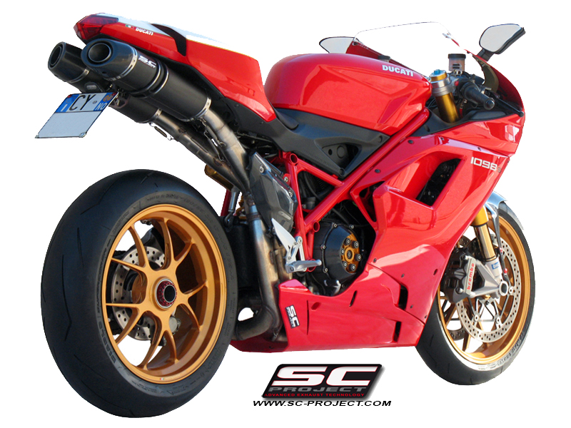 Oval Exhaust By Scproject: Ducati 1098 Exhaust At Woreks.co