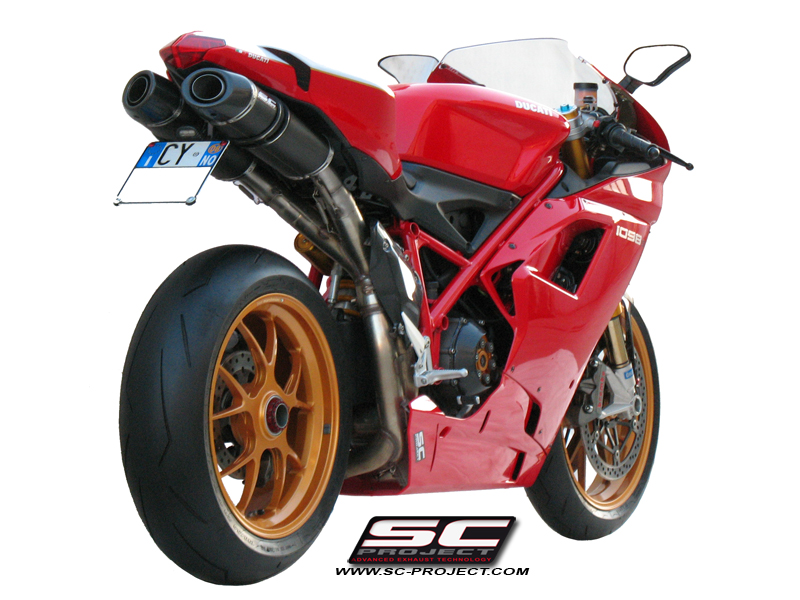 Ducati 848 1098 1198 Oval Exhaust By Sc Project