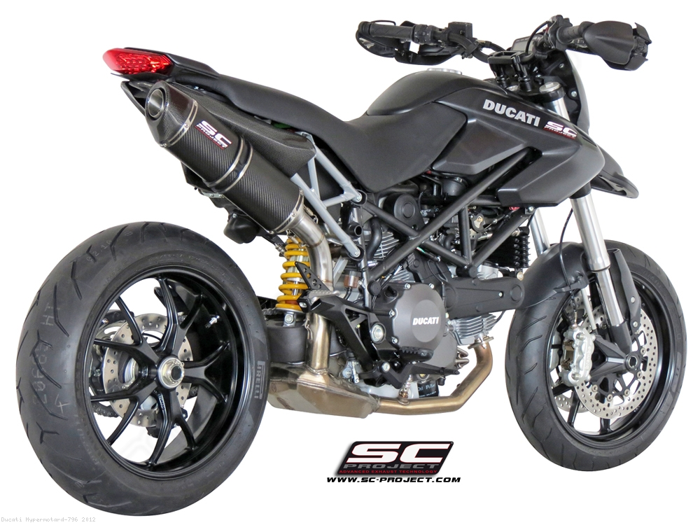 Oval Exhaust by SC-Project Ducati / Hypermotard 796 / 2012 (D05-02)