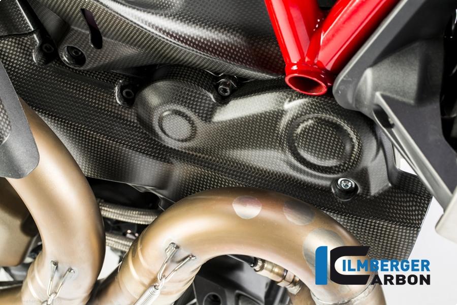 Carbon Fiber Horizontal Belt Cover By Ilmberger Carbon Ducati