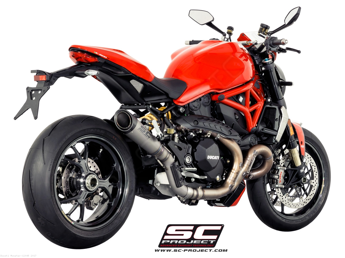 s1 exhaustsc-project ducati / monster 1200r / 2017 (d18-t41t)