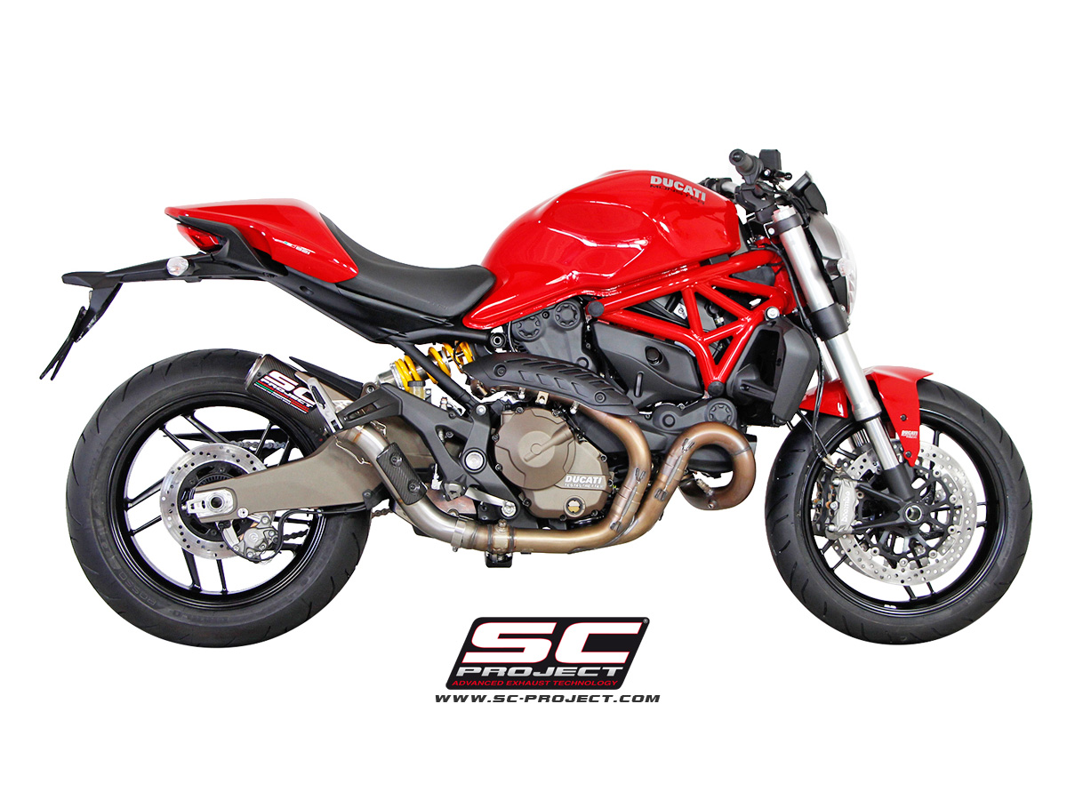 Ducati Monster   Sc Project Exhaust