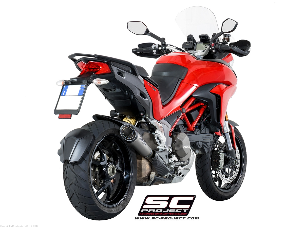 s1 exhaust by sc project ducati multistrada 1200 s. Black Bedroom Furniture Sets. Home Design Ideas