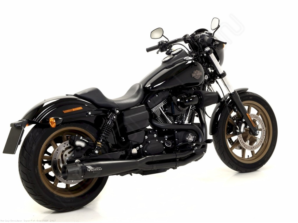 2 Into 1 Full System Exhaust By Mohican Harley Davidson Dyna Fat Bob Fxdf