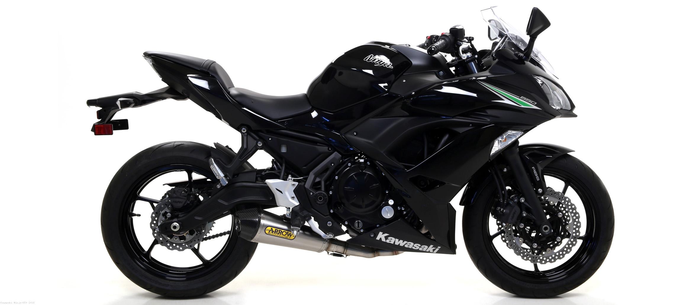 X Kone Nichrom Full System Exhaust By Arrow Kawasaki