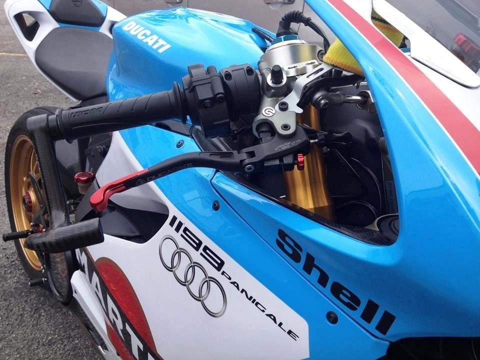 Carbon Fiber Brake Lever Guard By Ducabike Ducati Monster 1200