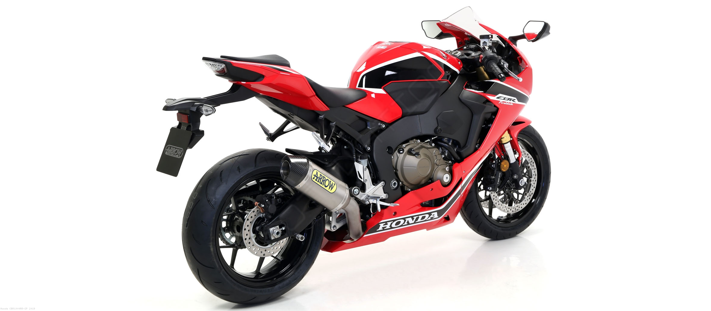 Competition Full System Exhaust By Arrow Honda Cbr1000rr Sp 2019
