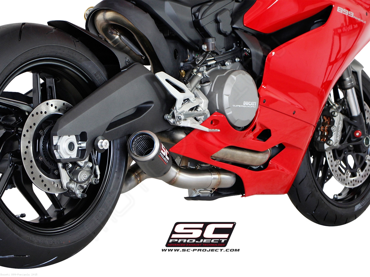 cr-t exhaustsc project ducati / 899 panigale / 2015 (d15-38)