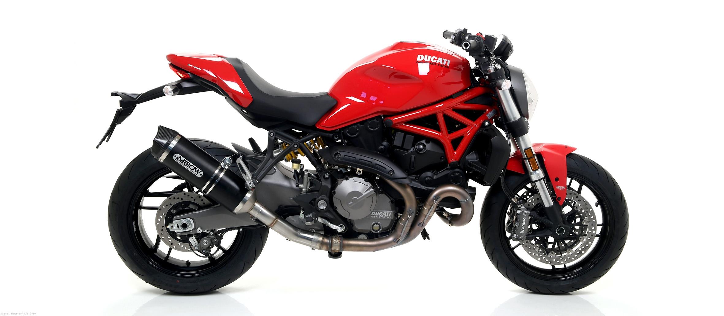 Race Tech Exhaust By Arrow Ducati Monster 821 2019