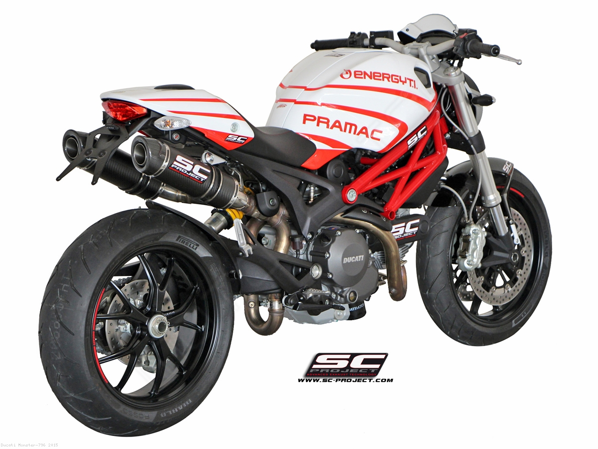 Gp Tech Exhaust By Sc Project Ducati Monster 796 2015 D04 28c