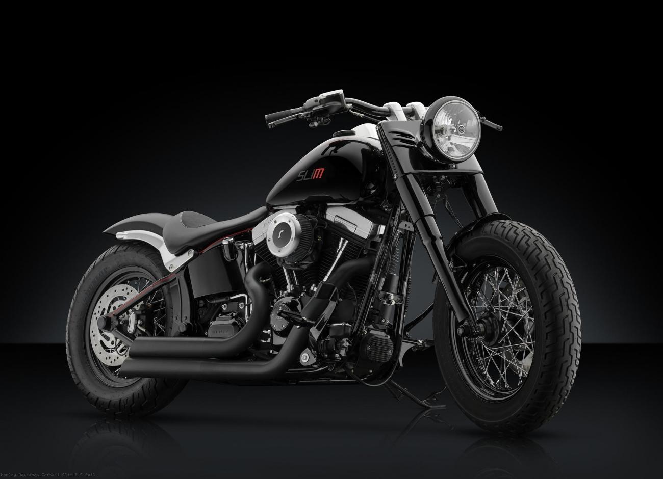 Harley Softail Fenders : Front fender by rizoma harley davidson softail slim fls