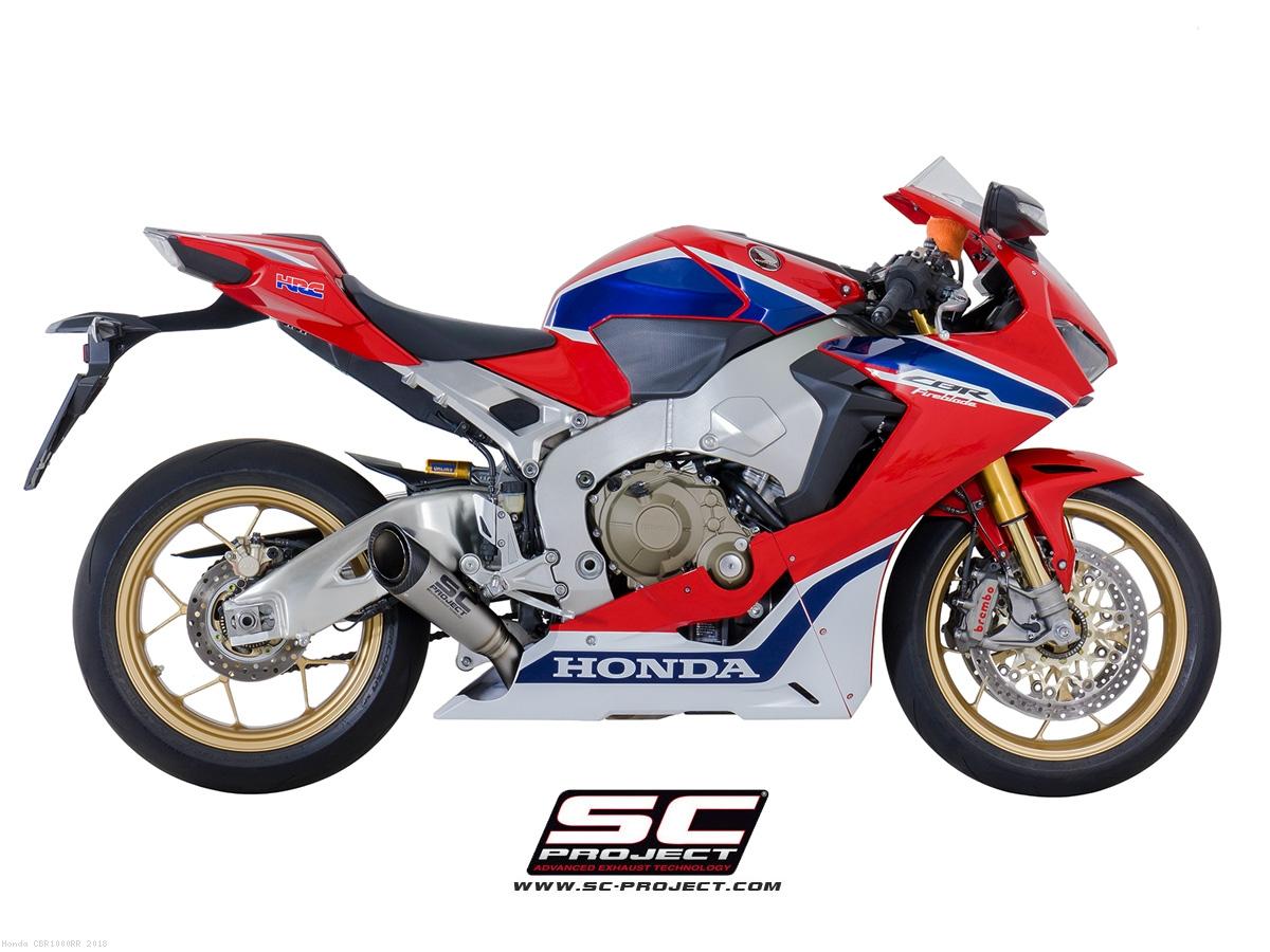 S1 Exhaust by SC-Project Honda / CBR1000RR / 2018 (H15-LT41T)