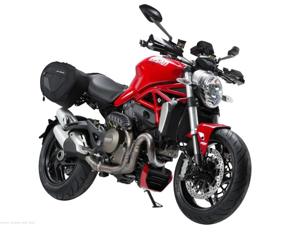 Blaze Sport Saddlebag System By Sw Motech Ducati Monster 821 2016