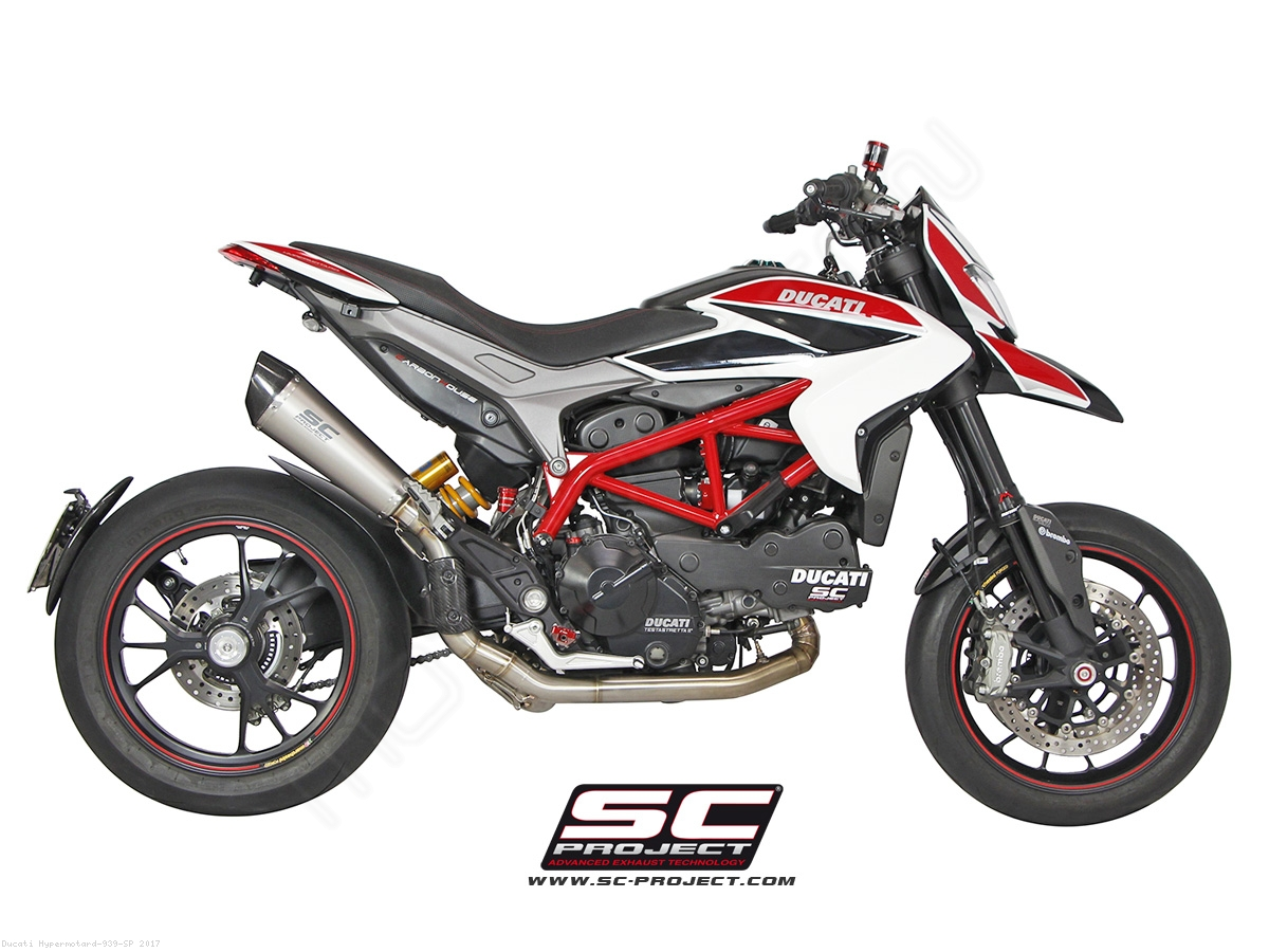 Conic High Mount Full System Exhaust Sc Project Ducati