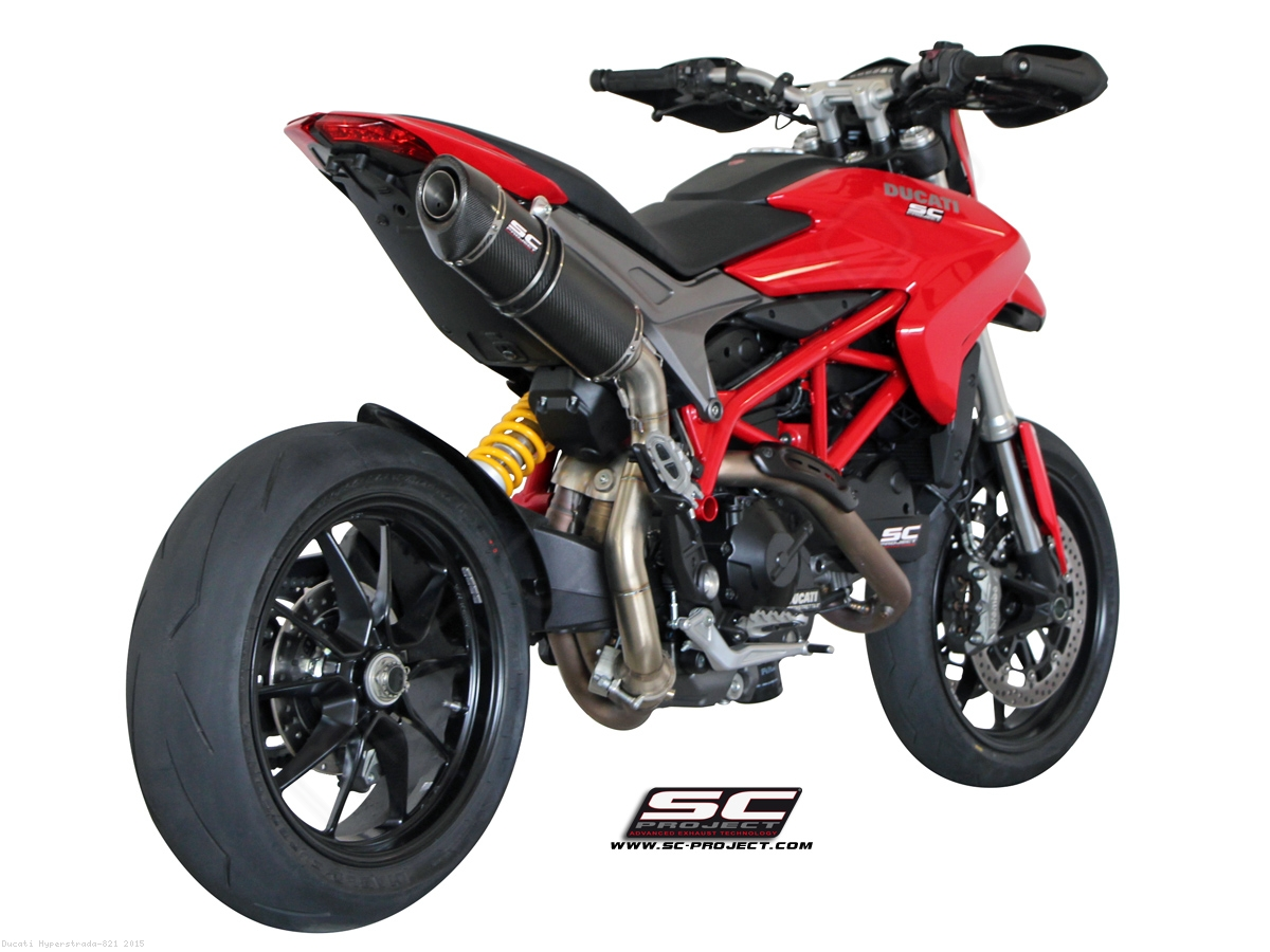 oval high mount exhaust by sc project ducati hyperstrada 821 2015 d10 h01. Black Bedroom Furniture Sets. Home Design Ideas