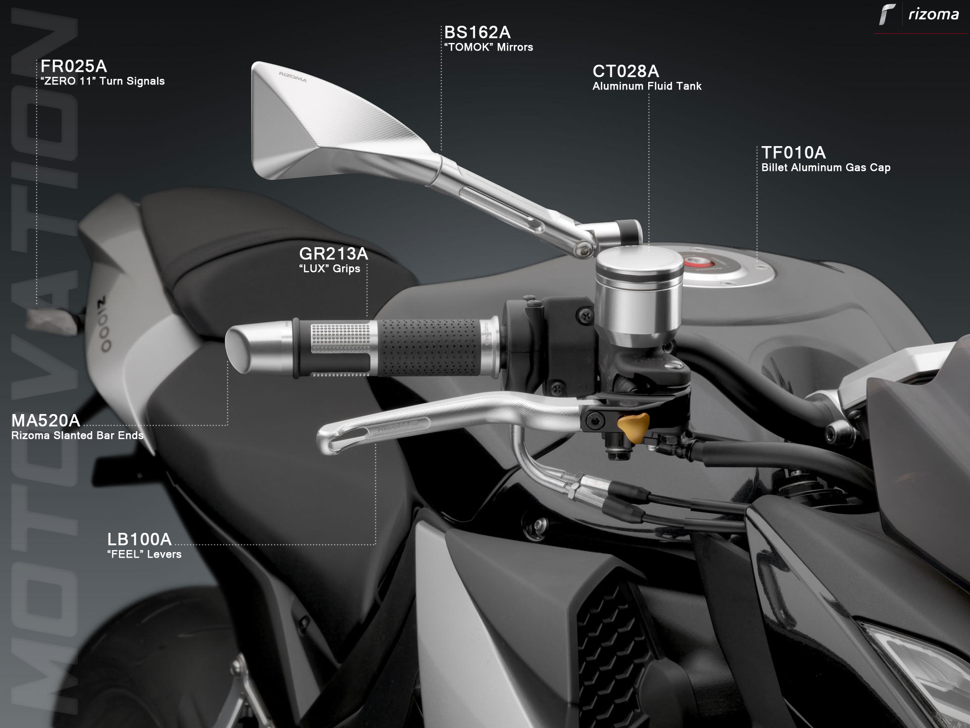 BMW Maintenance Program >> Rizoma Slanted Bar Ends (MA520)