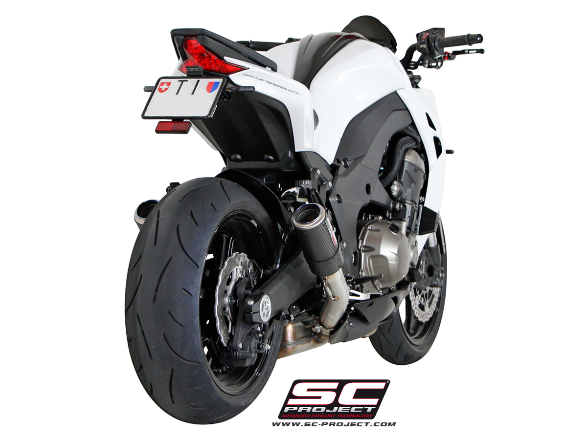 Kawasaki Z1000 2014 Series Cr T Exhaust By Sc Project