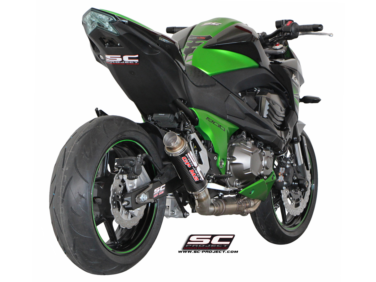 kawasaki z800 gp m2 exhaust by sc project. Black Bedroom Furniture Sets. Home Design Ideas