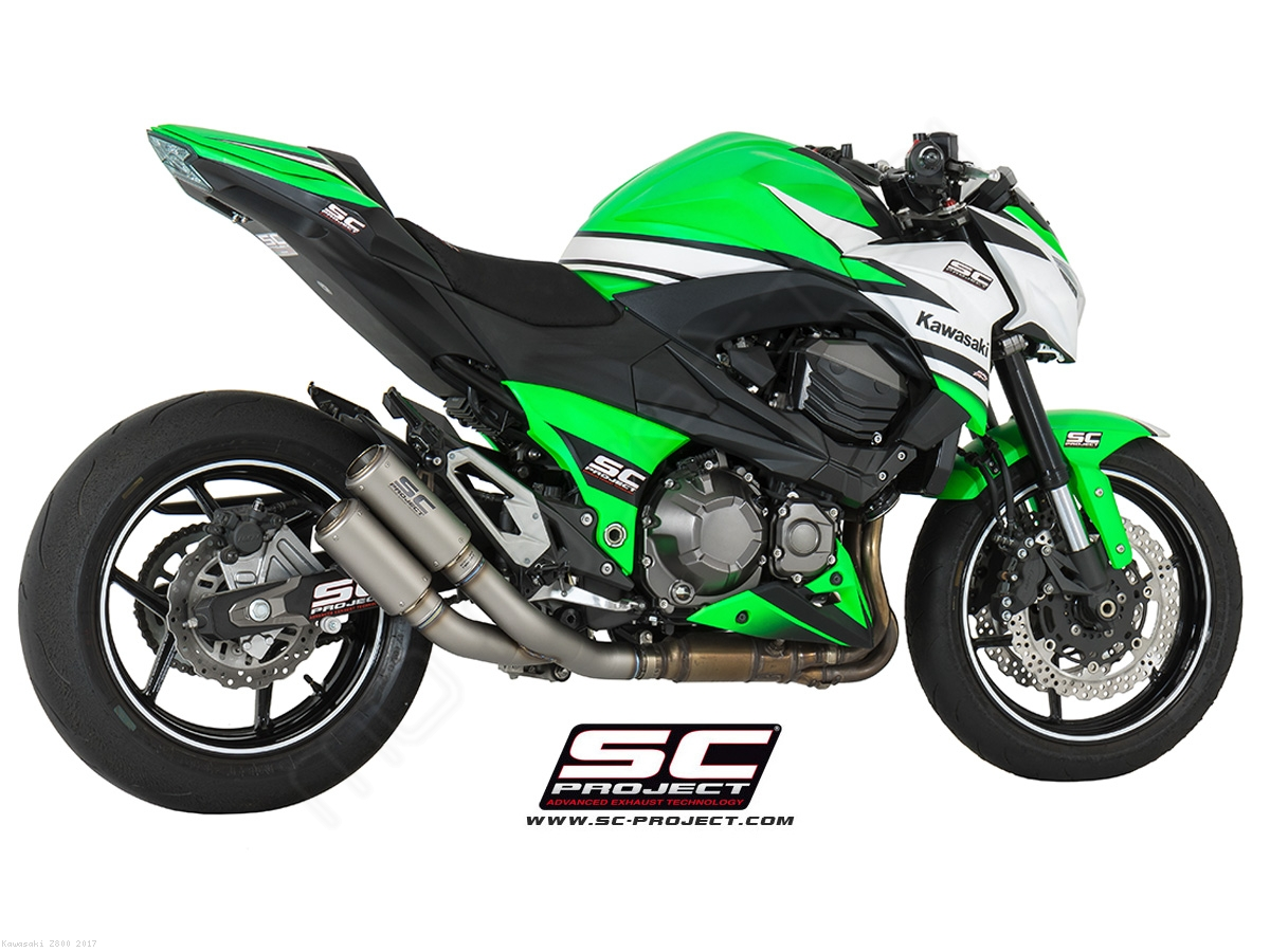 Cr T Exhaust By Sc Project Kawasaki Z800 2017 K15 Dt36t