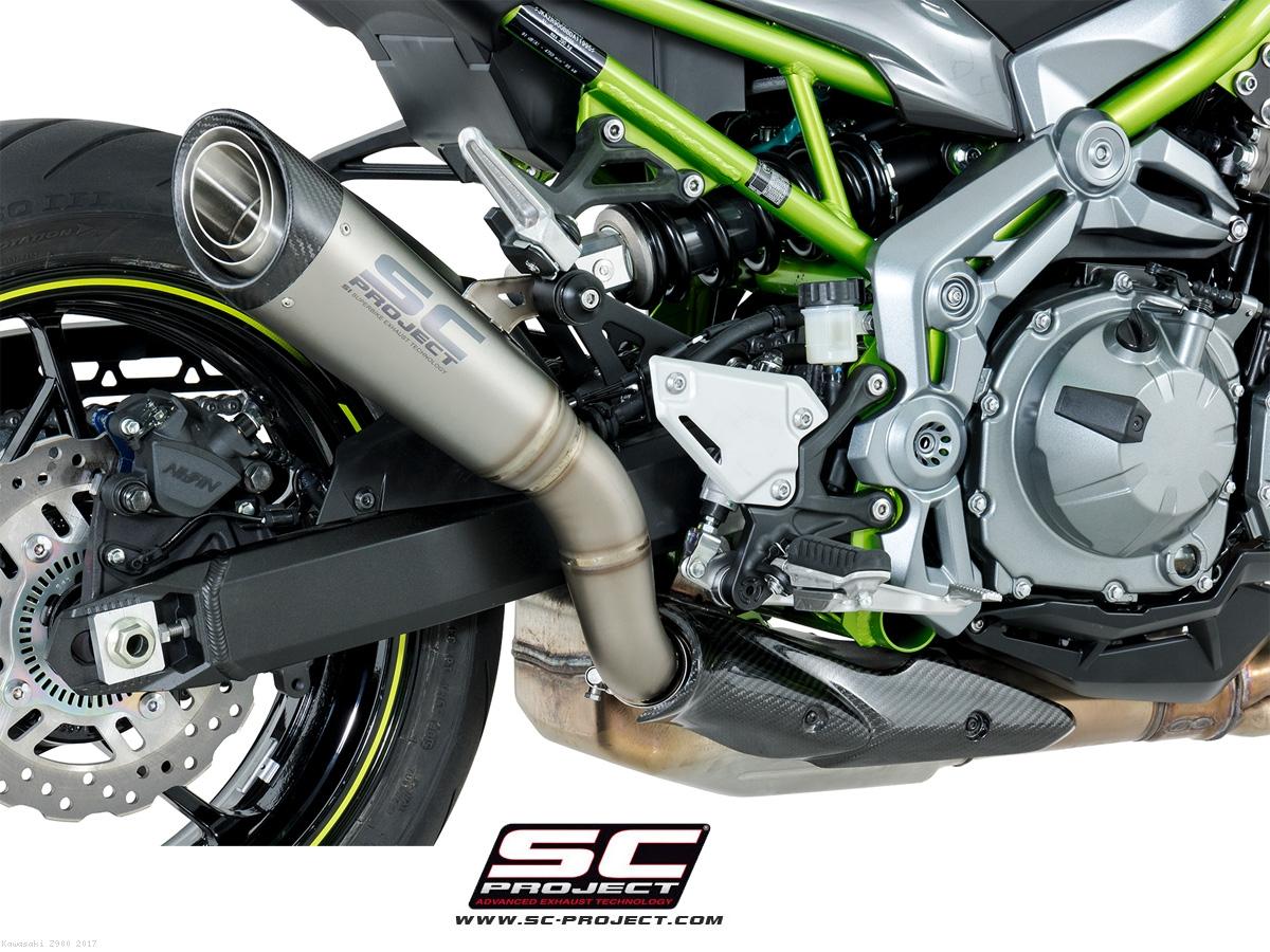 S1 Exhaust By Sc Project Kawasaki Z900 2017 K25 T41t
