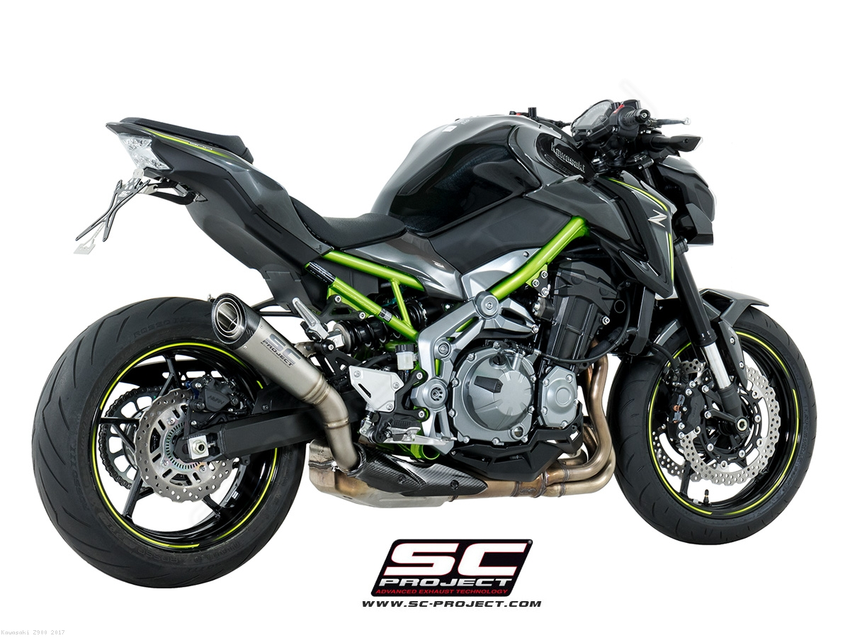 S1 Exhaust By SC Project Kawasaki Z900 2017