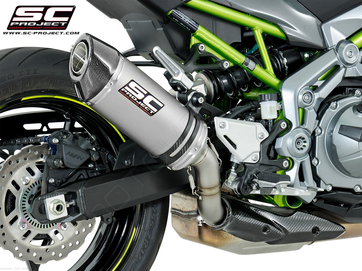oval exhaust by sc project kawasaki z900 2018 k25 t25. Black Bedroom Furniture Sets. Home Design Ideas