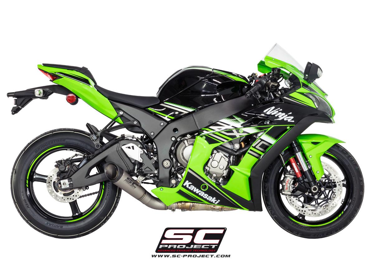 S1 Exhaust By Sc Project K22 L41t Kawasaki Zx 10r Zx10r