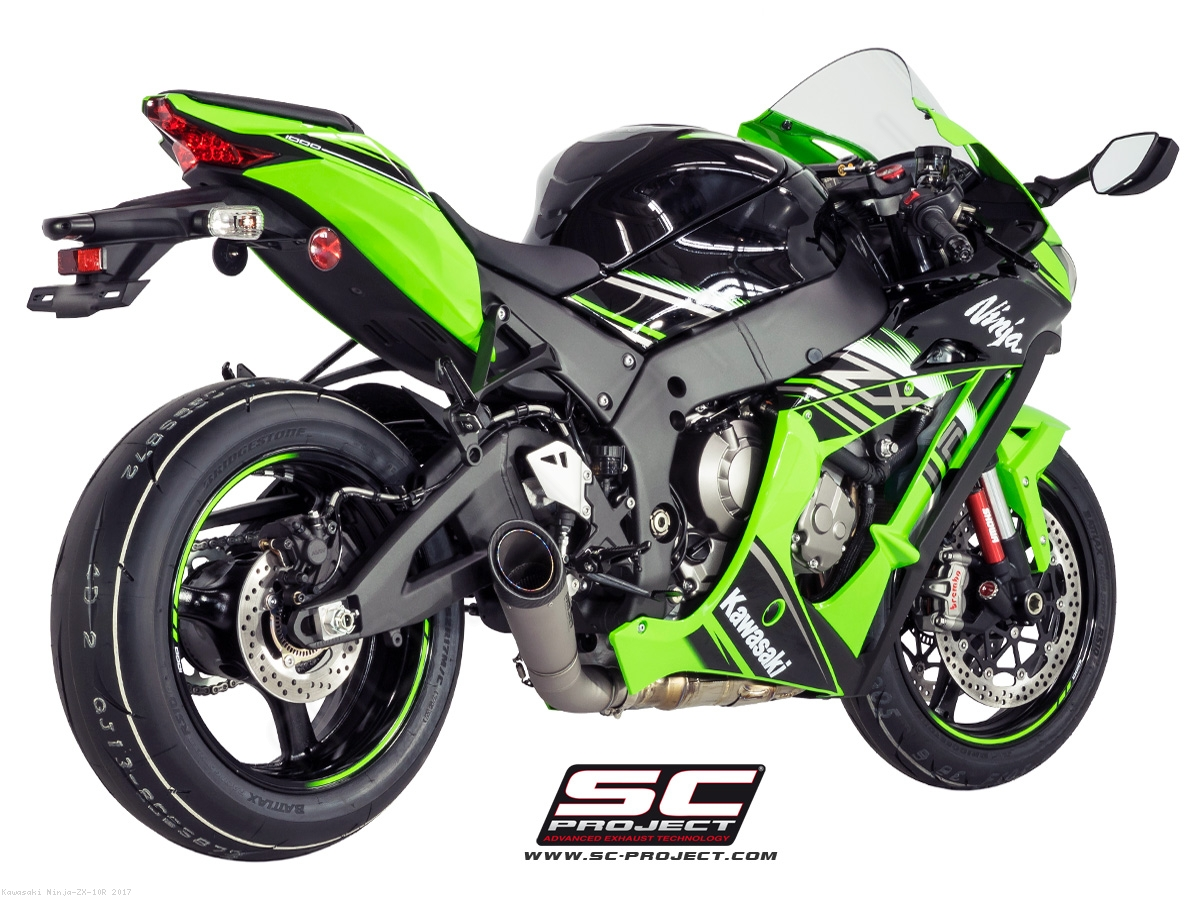S1 Exhaust By Sc Project Kawasaki Ninja Zx 10r 2017 K22 L41t