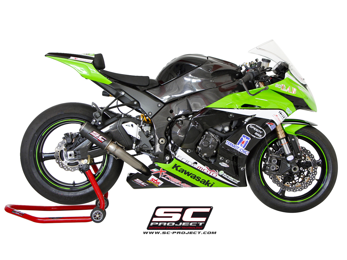 Kawasaki Zx 10r 2011 Series Cr T Exhaust By Sc Project