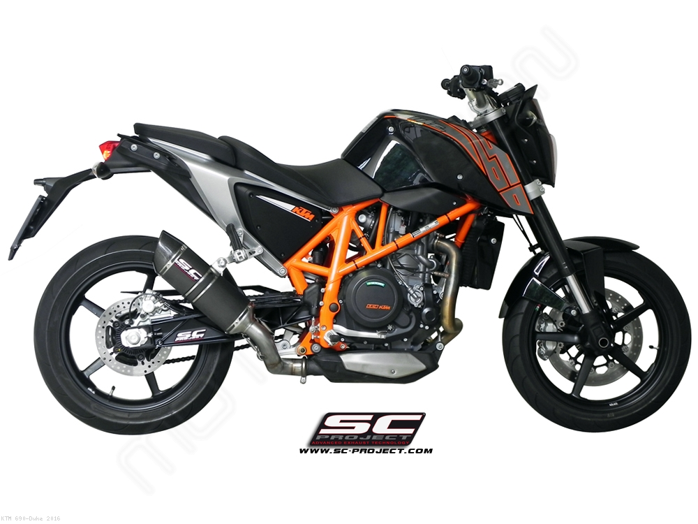 oval exhaust by sc project ktm 690 duke 2016 ktm06 12. Black Bedroom Furniture Sets. Home Design Ideas