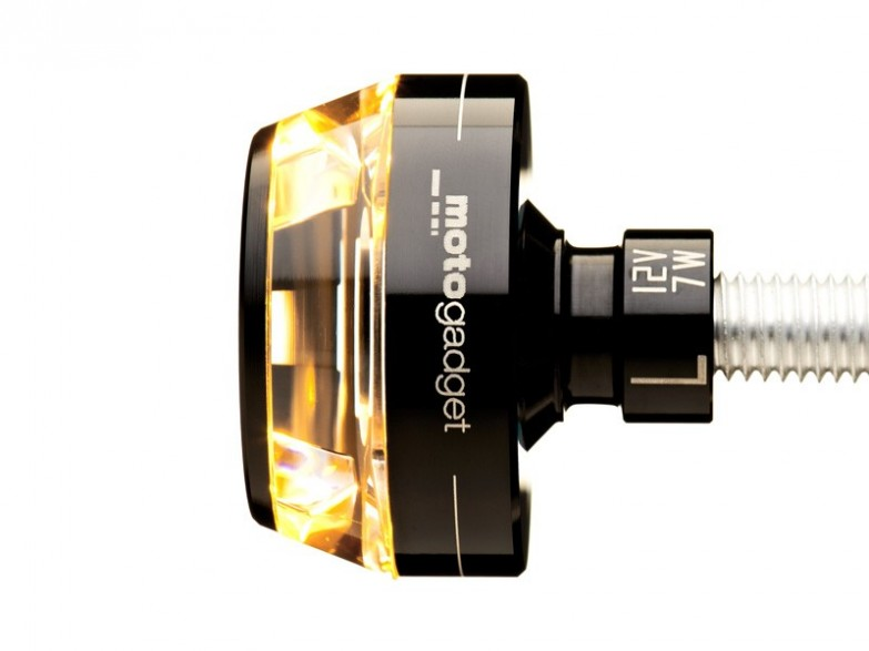 M Blaze Disc Bar End Led Turn Signal By Motogadget Mg6002011