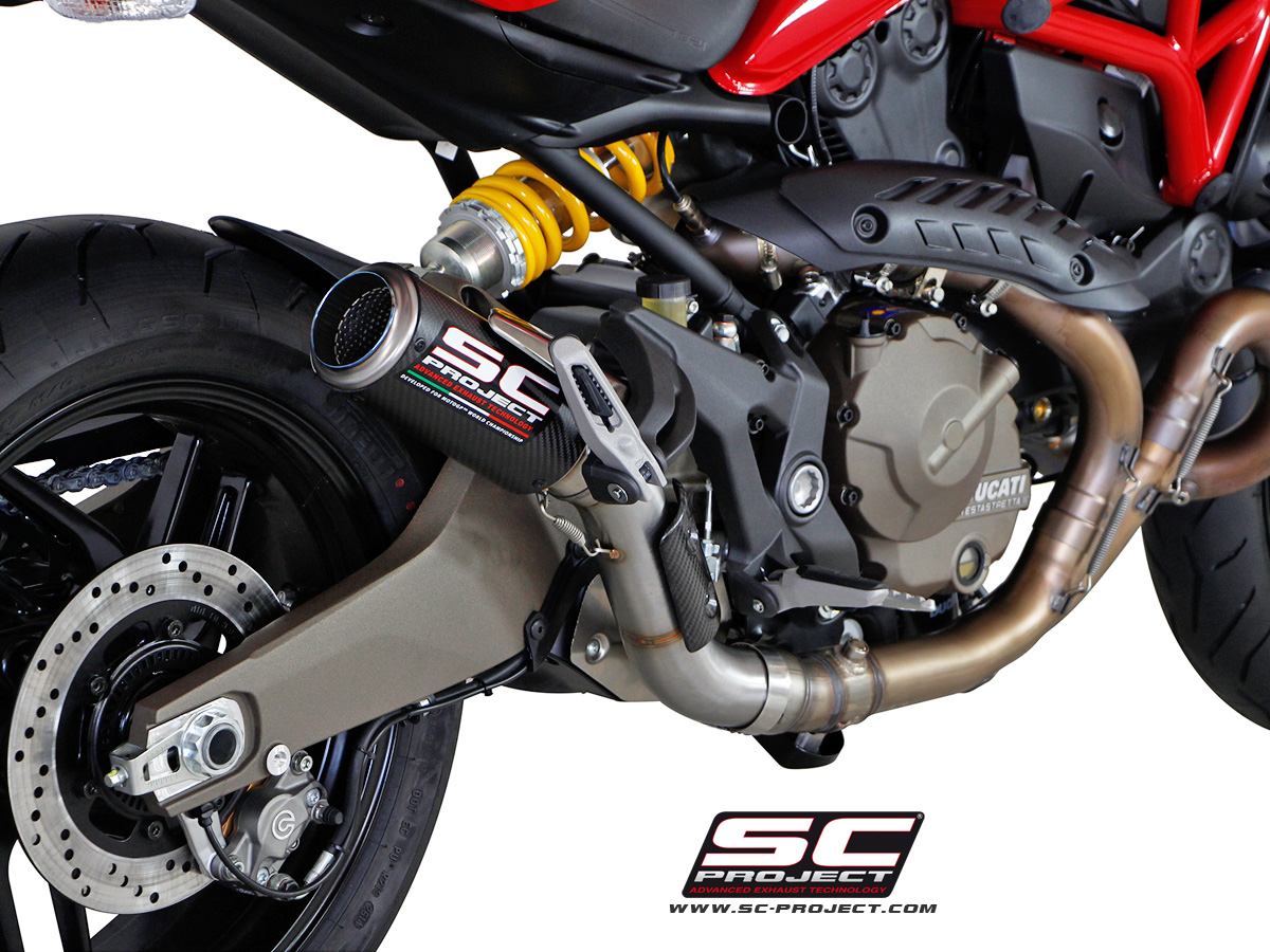 Bmw Loyalty Program >> Ducati Monster 821 CR-T Slip-on Exhaust by SC-Project