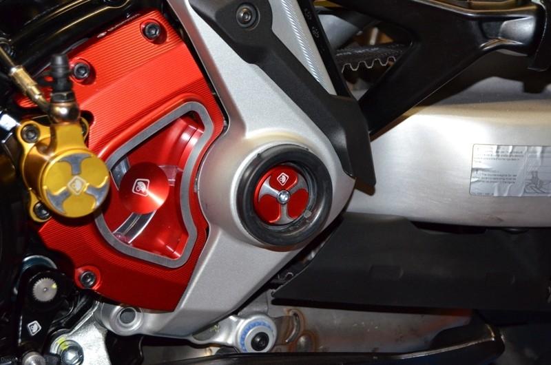 Ducabike Ducati XDiavel Frame Plug Caps Red