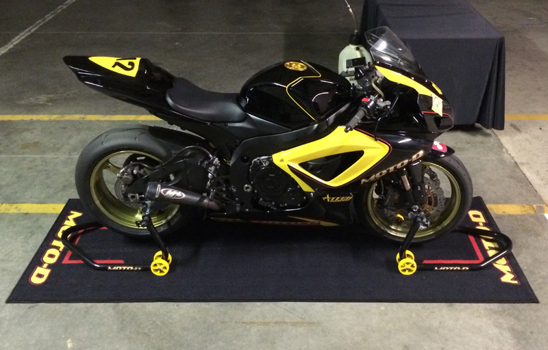 Ducati Motorcycle Garage Mats