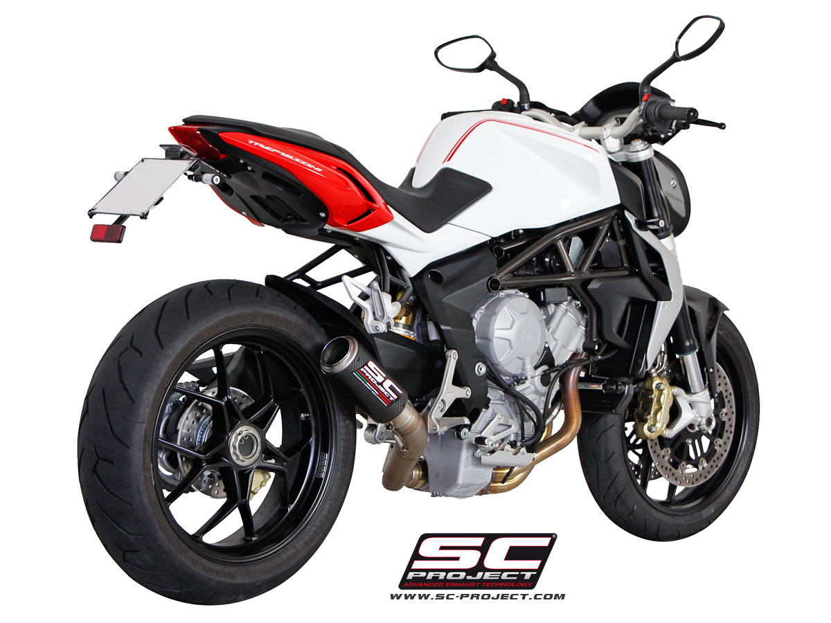 mv agusta brutale 675 / 800 / dragster cr-t exhaustsc-project