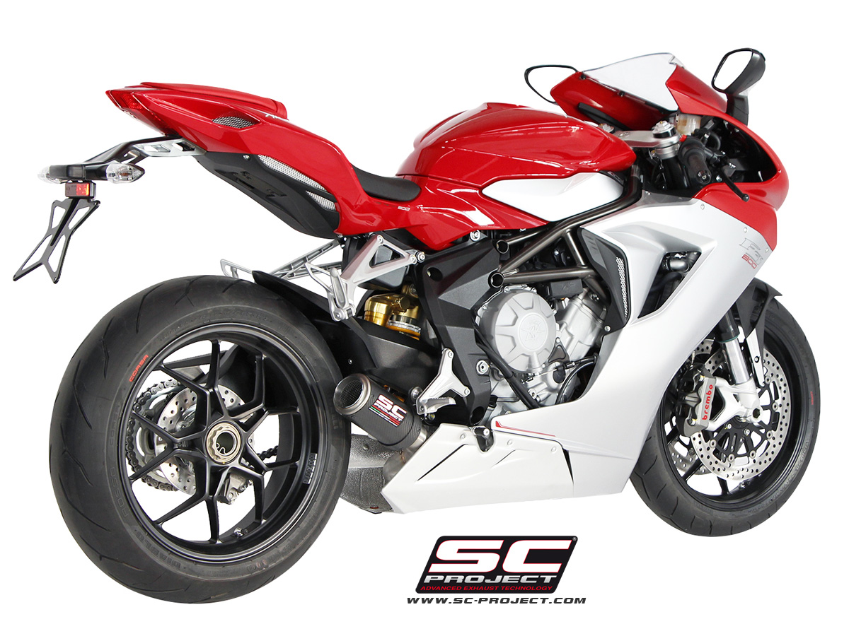 Mv Agusta F3 675 800 Cr T Exhaust By Sc Project